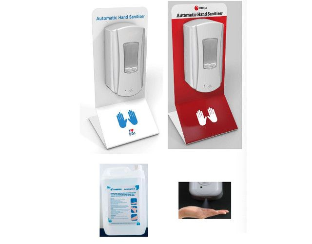 Automatic Hand Sanitiser Dispenser Stations (Countertop)
