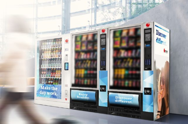 Enjoy the latest vending technology